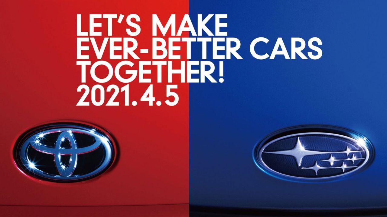 Toyota Gazoo Racing och Subaru ska visa något den 5 april