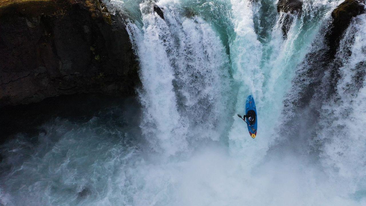 Extrem kajak-paddling med Nouria Newman