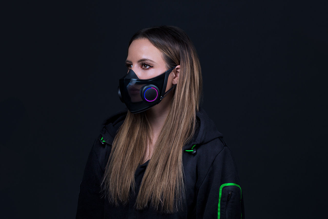 Razers RGB-försedda prototypmask kommer bli verklighet