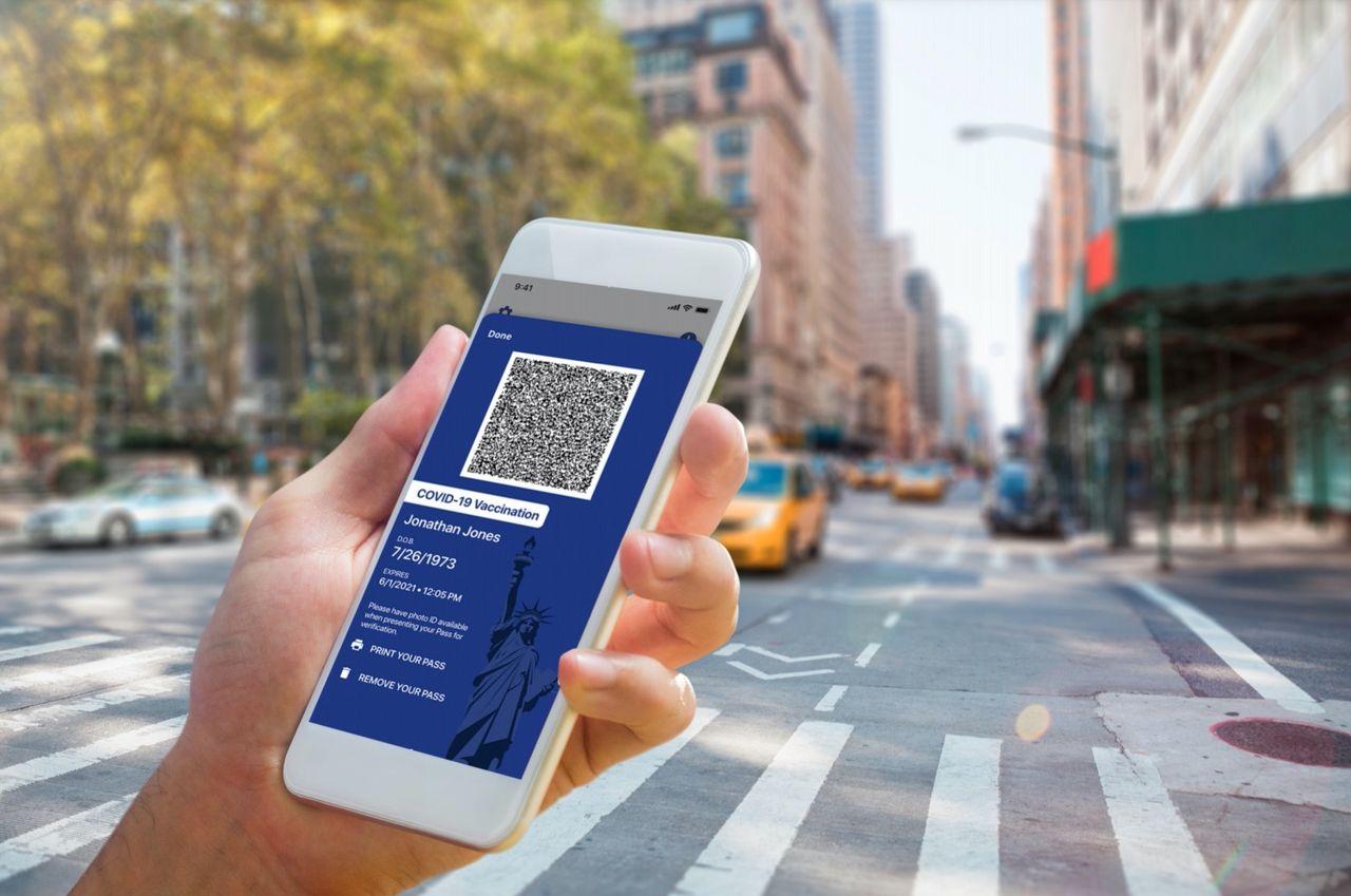 New York blir först i USA med coronapass