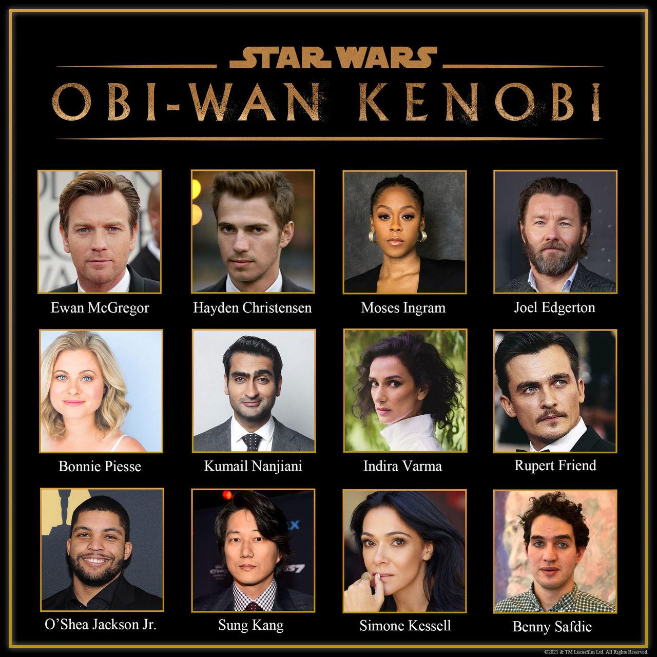Det här är rollistan till miniserien Obi-Wan Kenobi