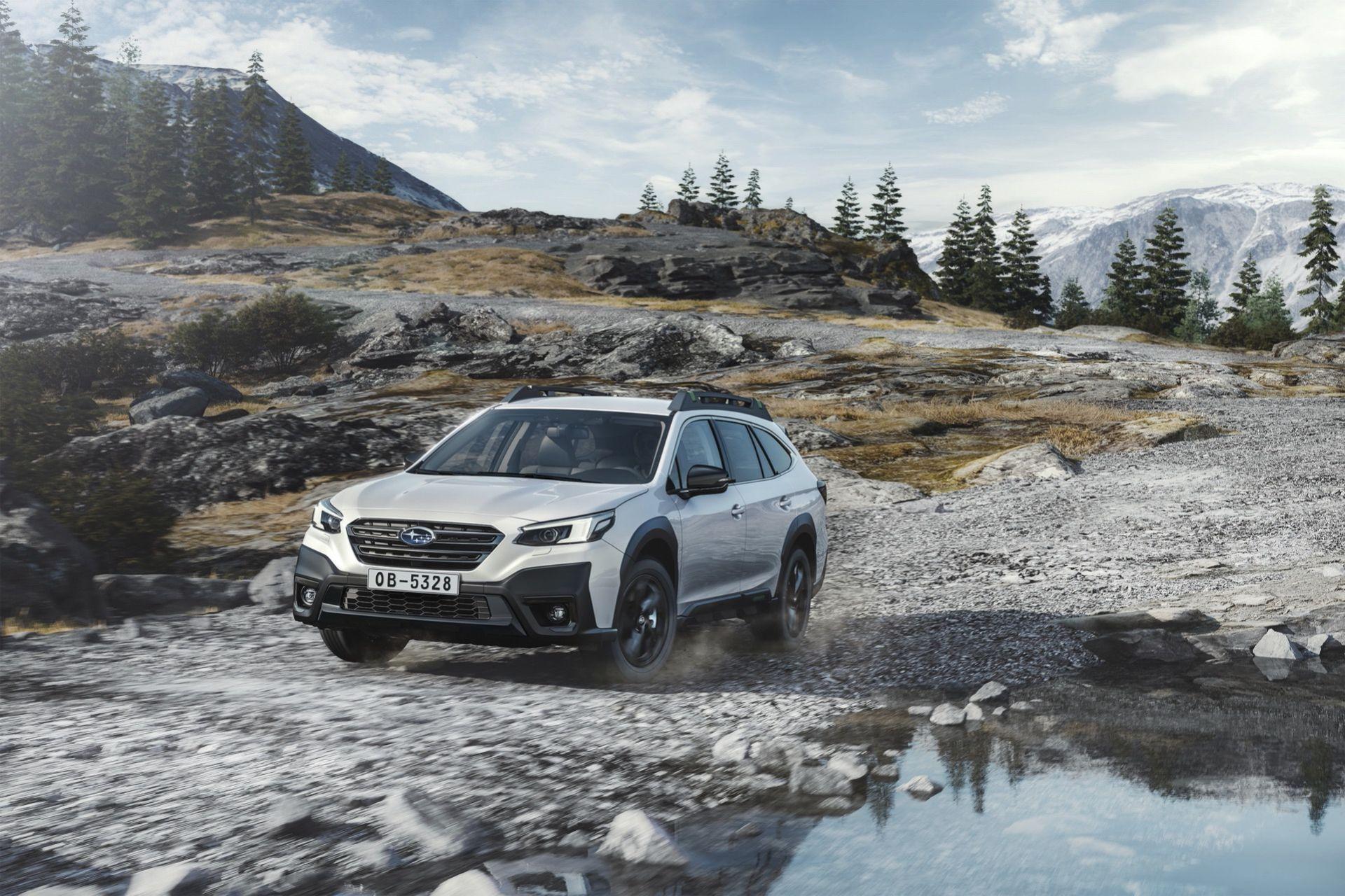 Det här är nya Subaru Outback