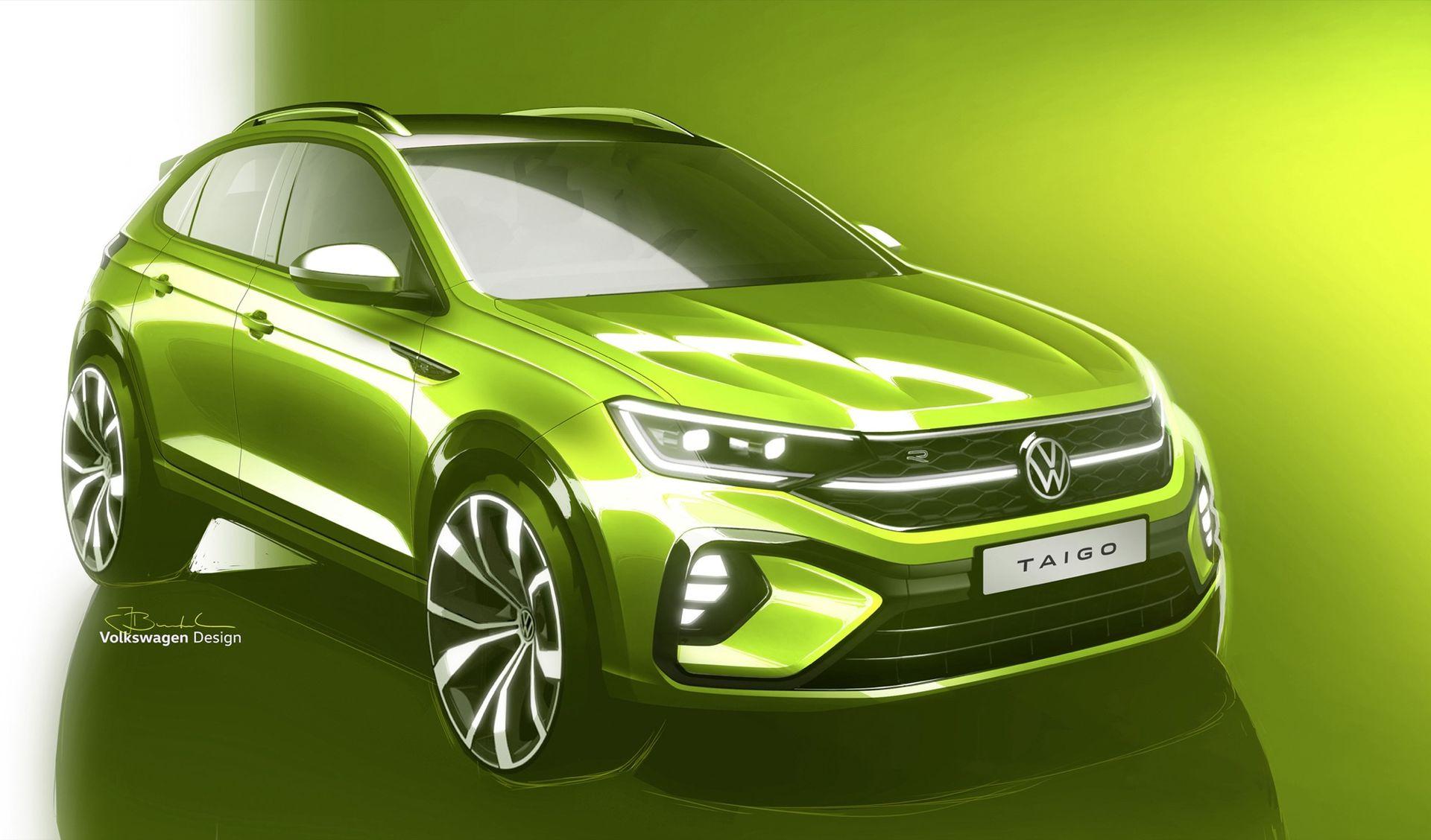 Volkswagen visar skisser på ytterligare en crossover