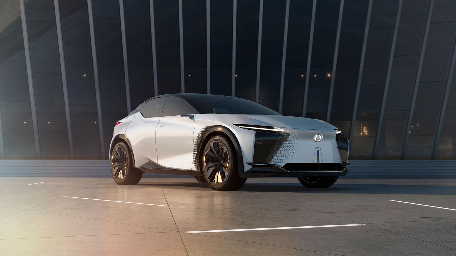 Det här är Lexus elektriska framtid