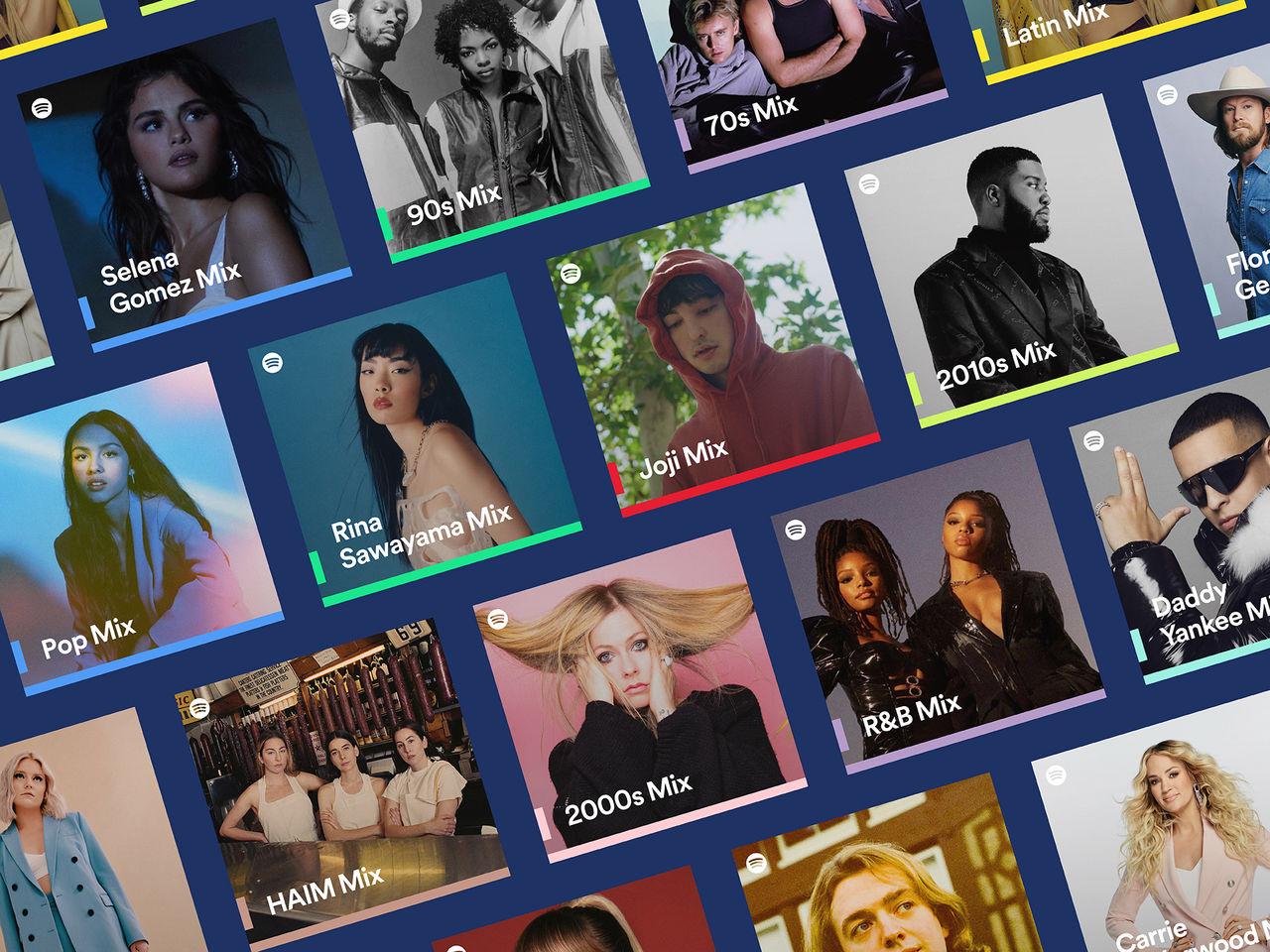 Spotify får fler personliga spellistor
