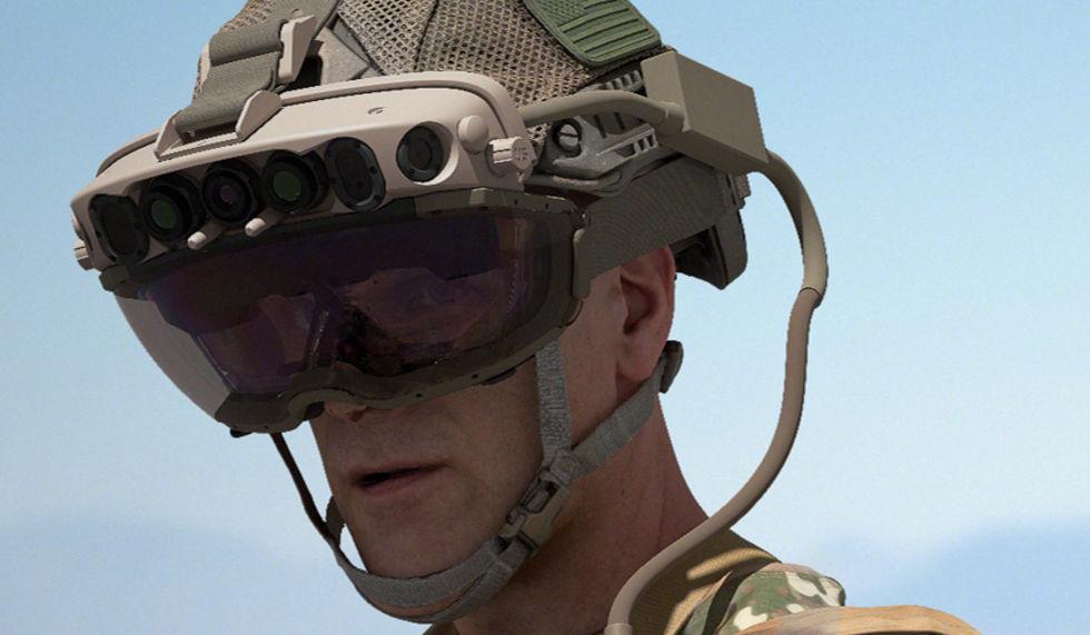 Microsoft säljer HoloLens-teknik till armén