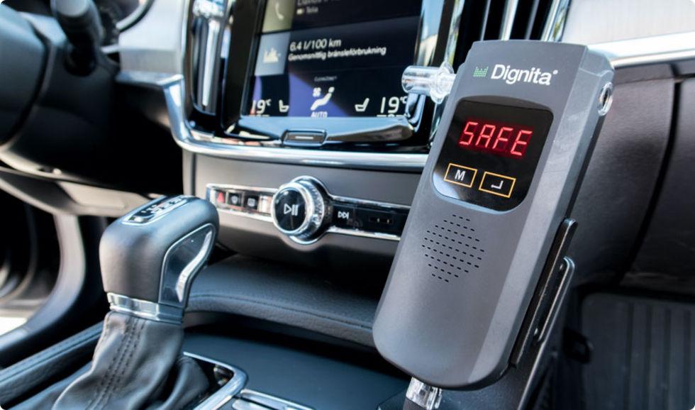Stor driftstörning i alkolås får taxibilar att stå still