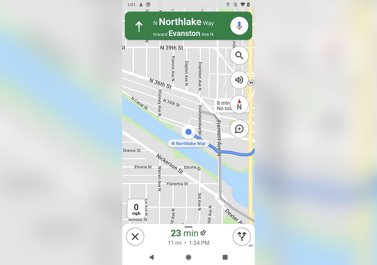 Kompassen kommer tillbaka i Google Maps
