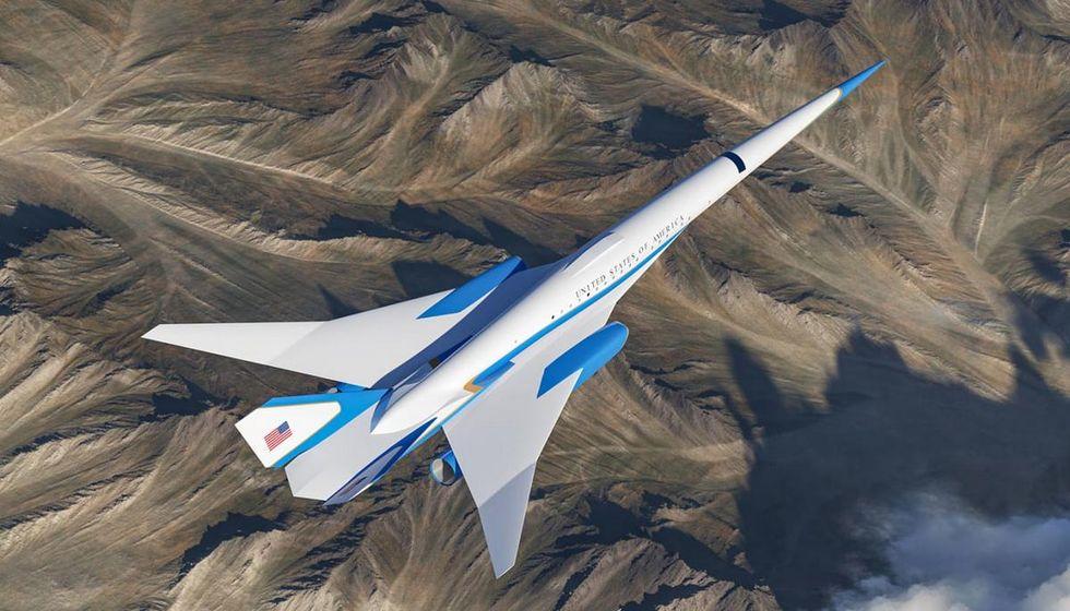 Så här skulle Air Force One kunna se ut i en överljudsversion