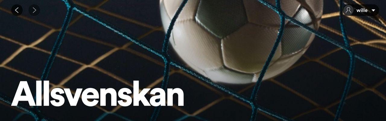 Spotify drar igång podcast-hub för Allsvenskan