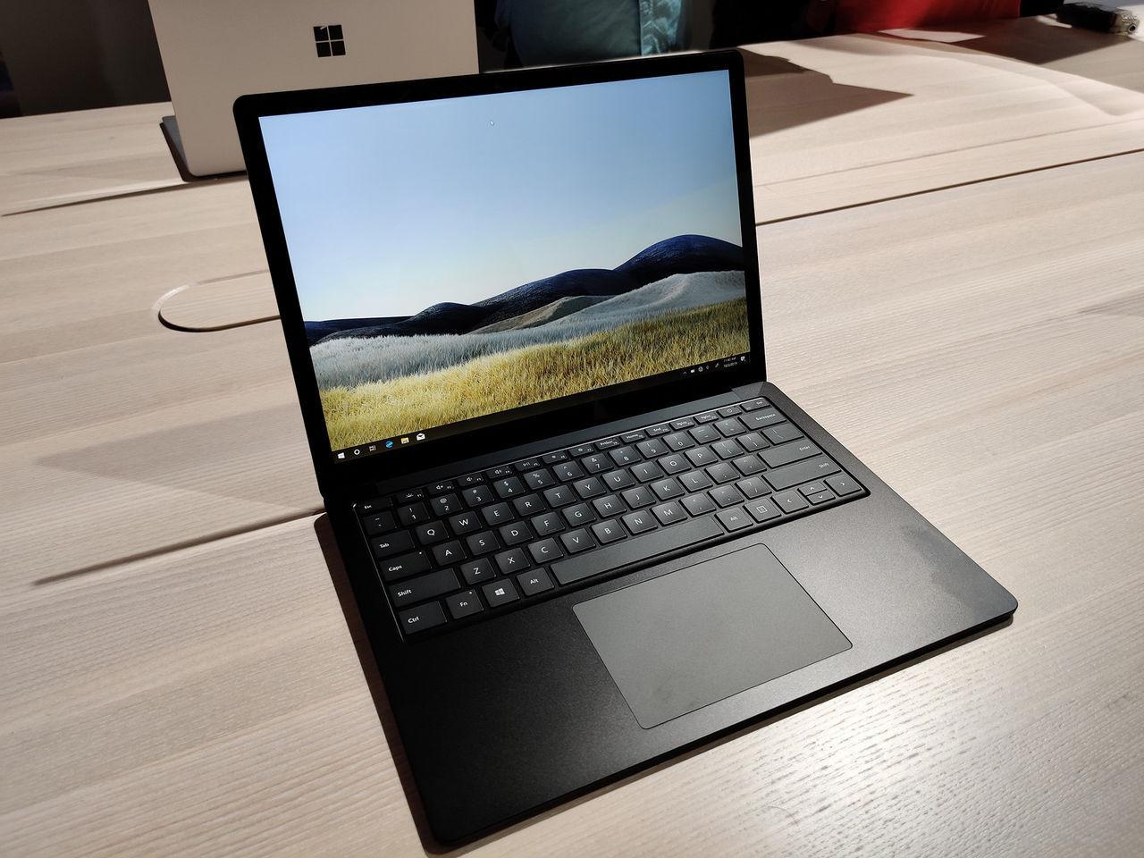 Microsoft Surface Laptop 4 dyker upp på supportsida