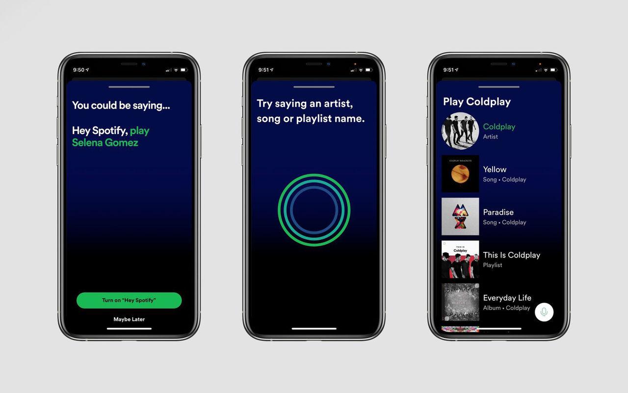Spotify kommer att få röststyrning
