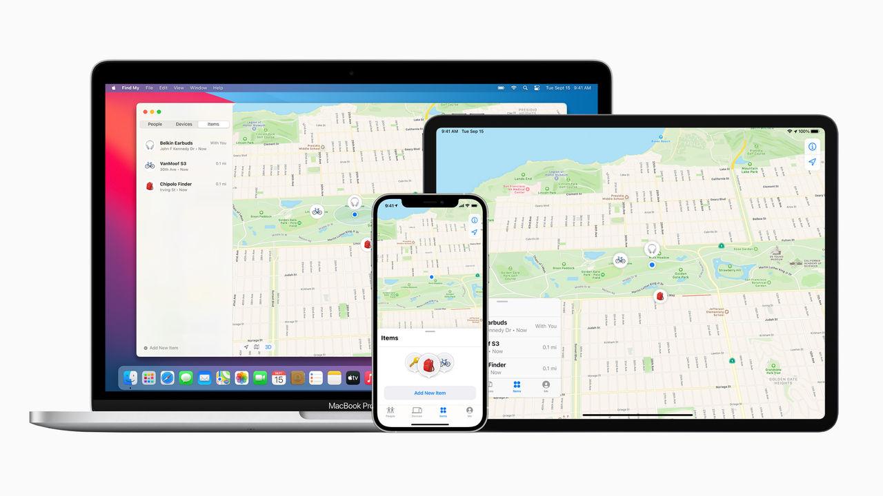 Apple lanserar Find My Network
