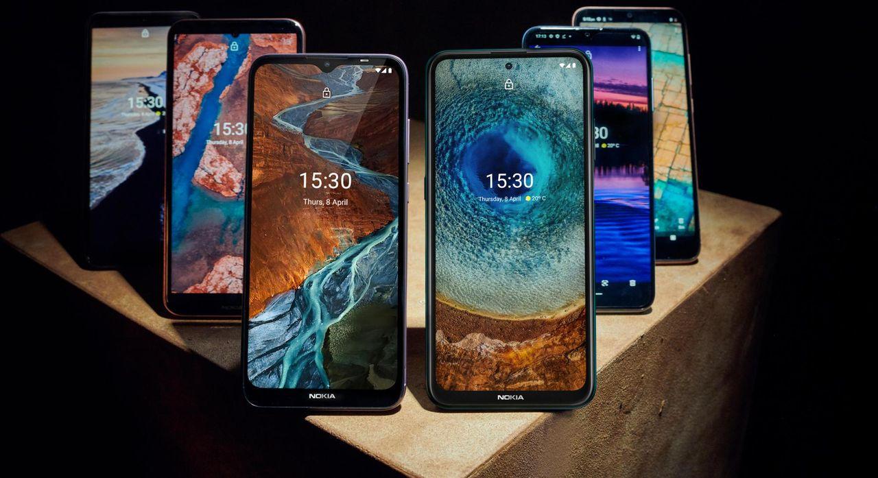Nokia presenterar sex nya mobiltelefoner