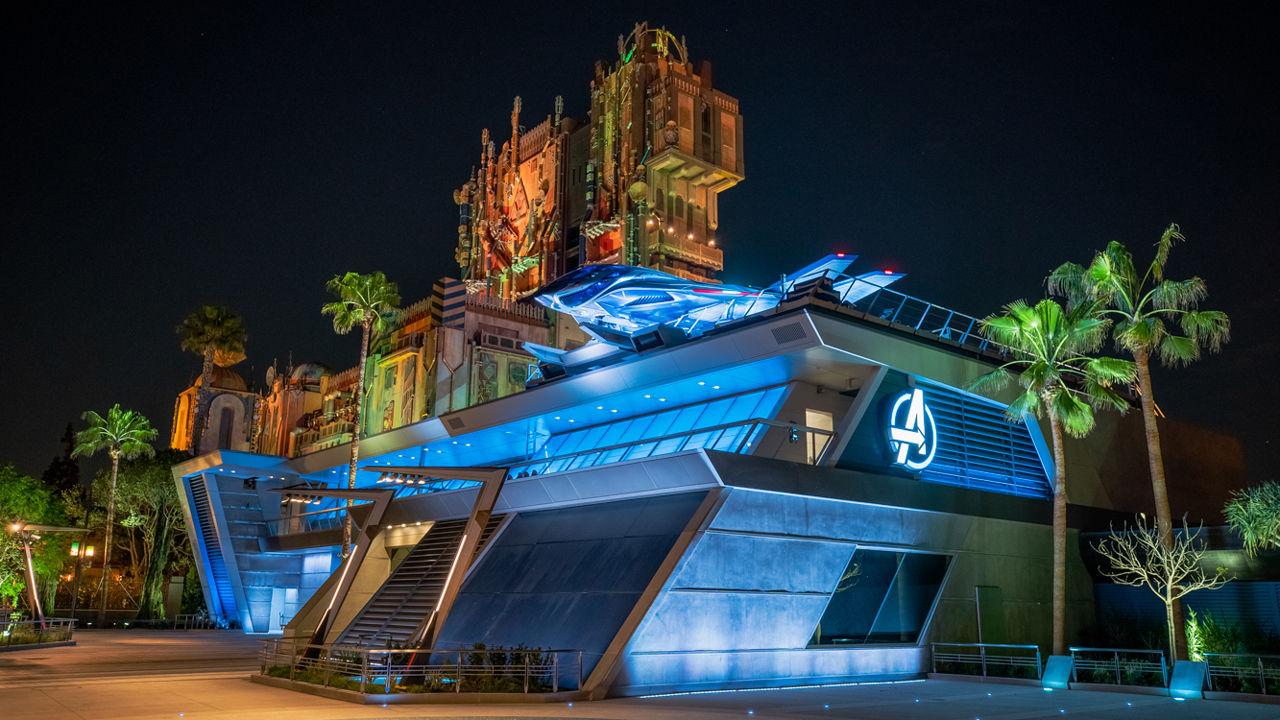 Avengers Campus öppnar på Disneyland i juni