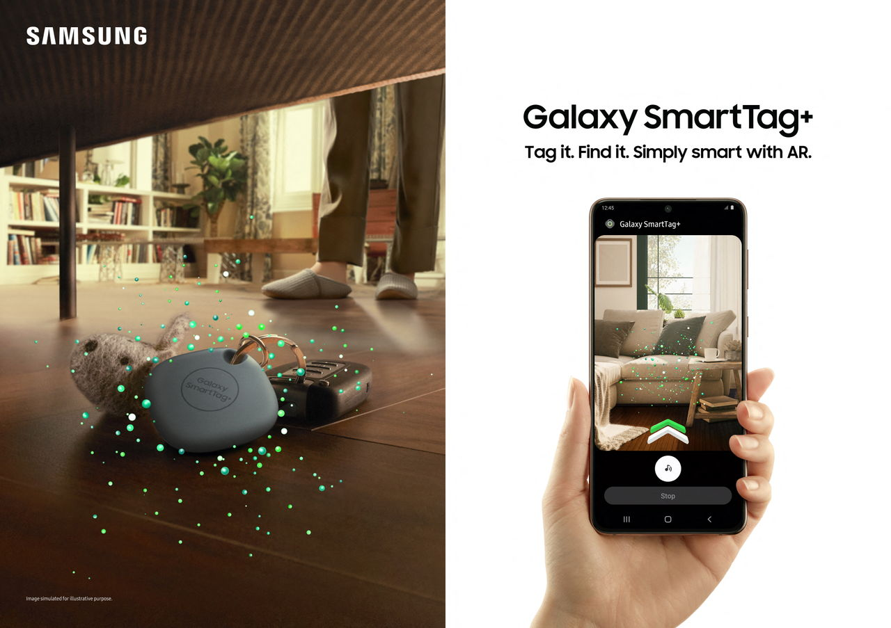 Samsung presenterar SmartTag+