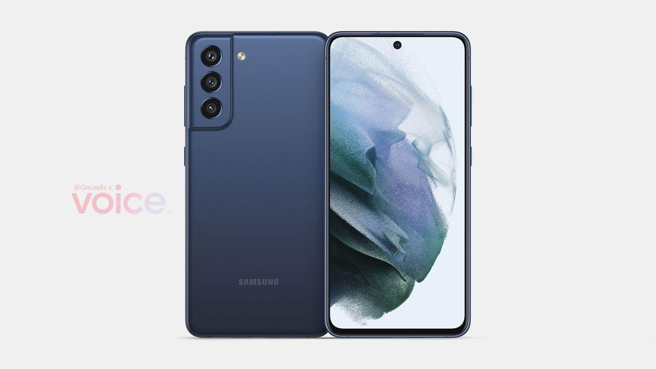 Bildläcka visar Samsung Galaxy S21 FE