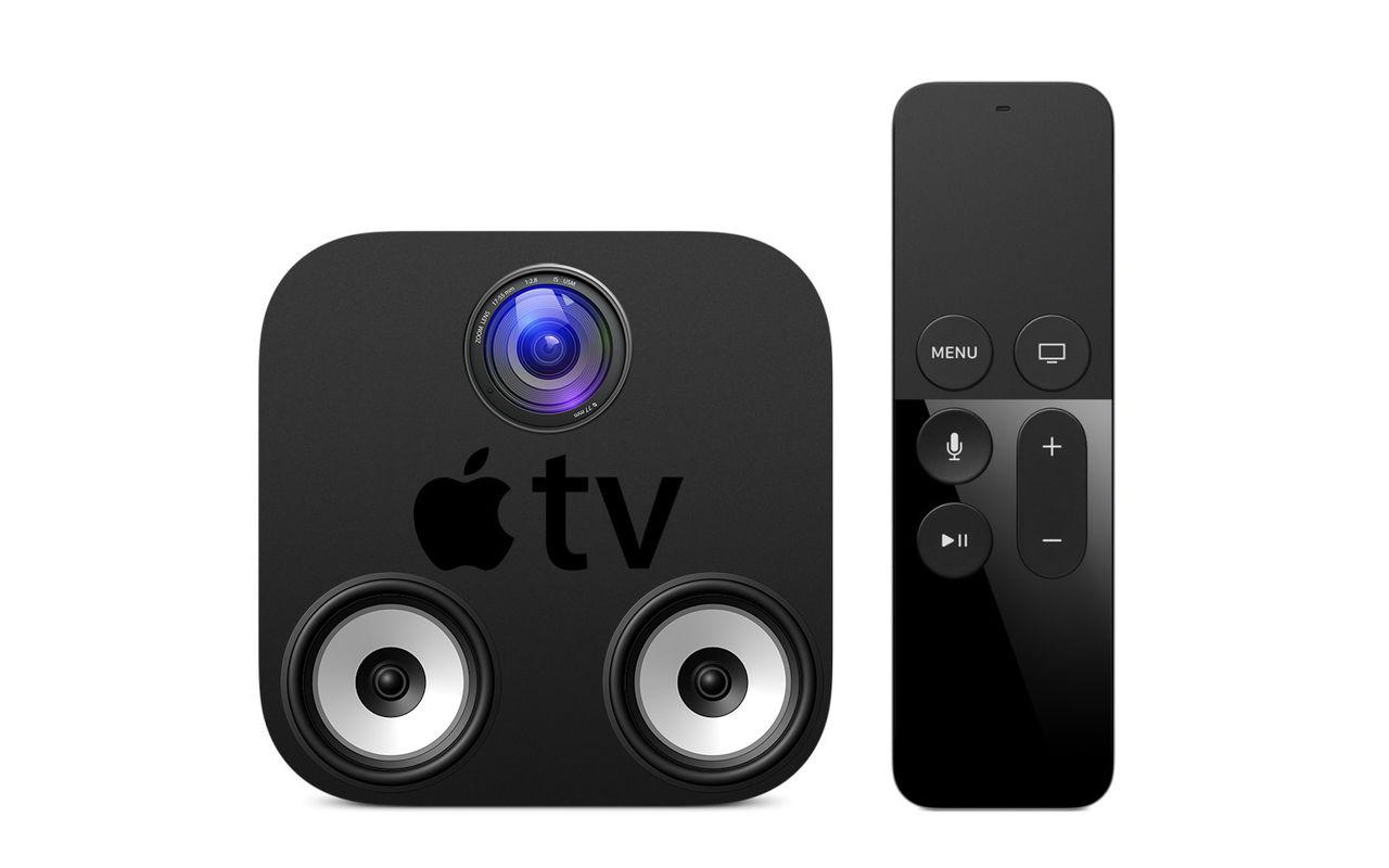 Apple TV ryktas få både högtalare och kamera