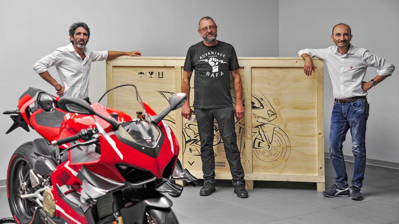 Ducati har skippat planerna på en elmotorcykel