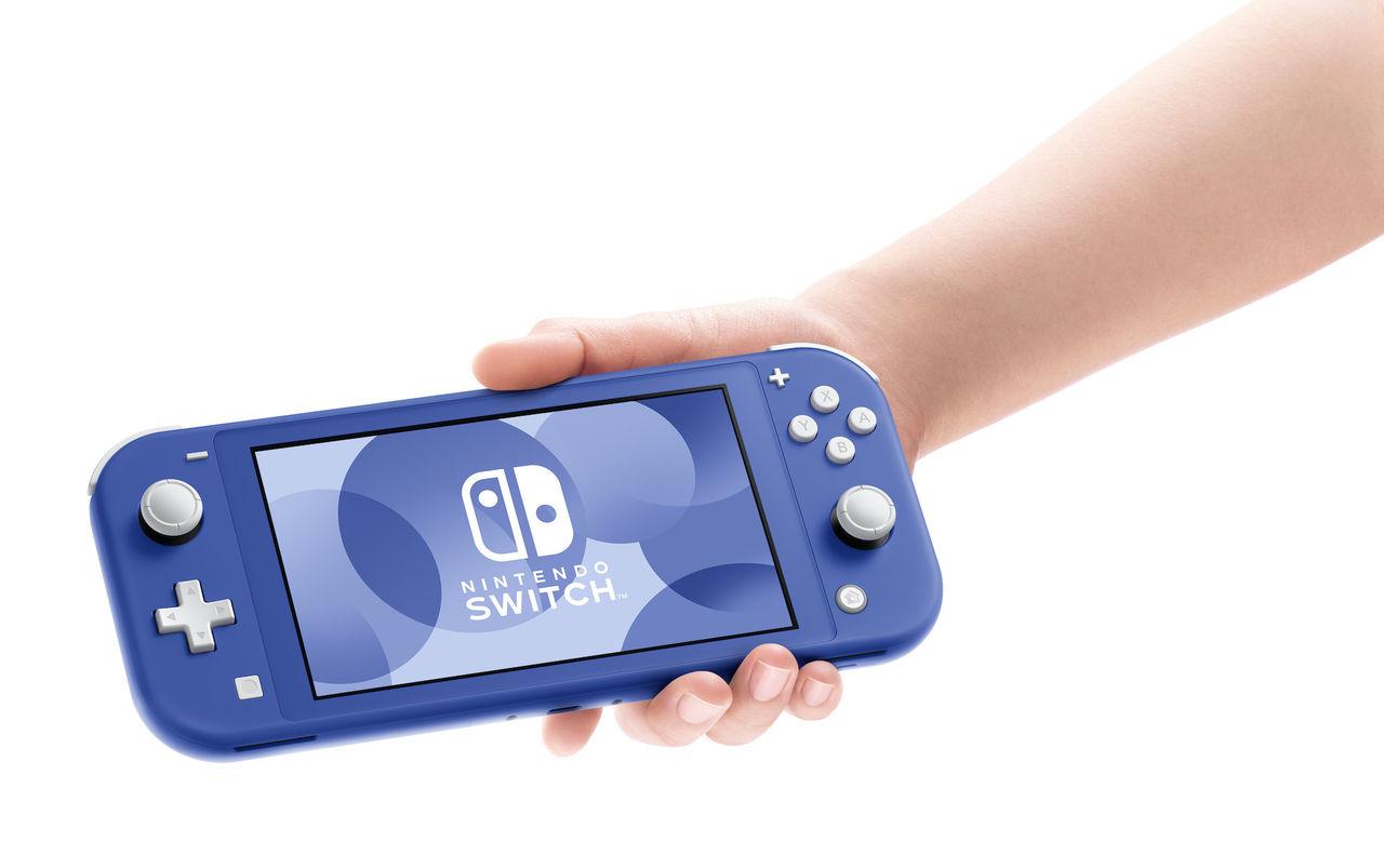 Nintendo släpper blå Switch Lite