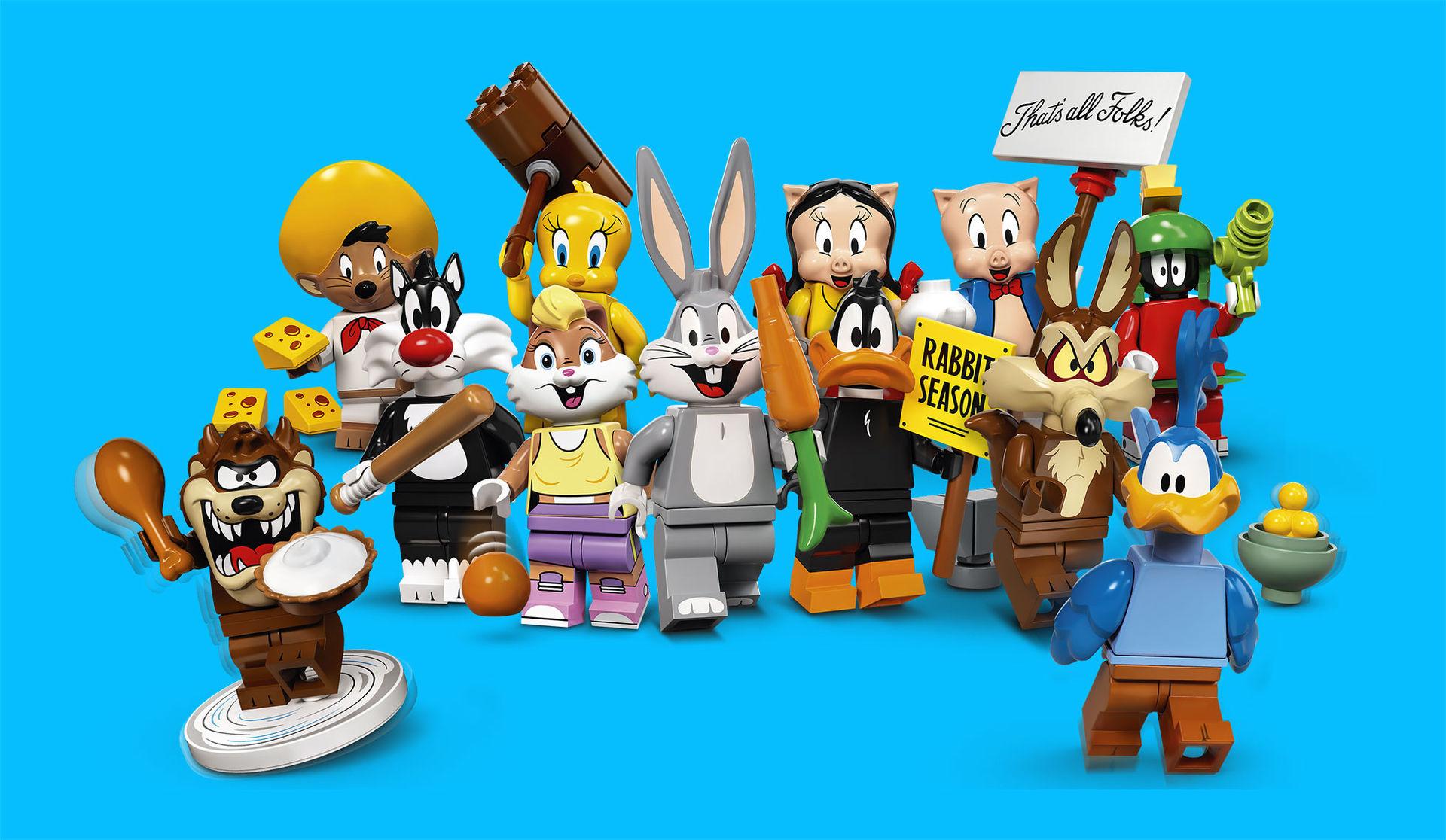Looney Tunes kommer som minifigs