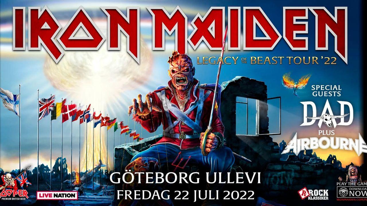 Iron Maiden ställer in årets turné