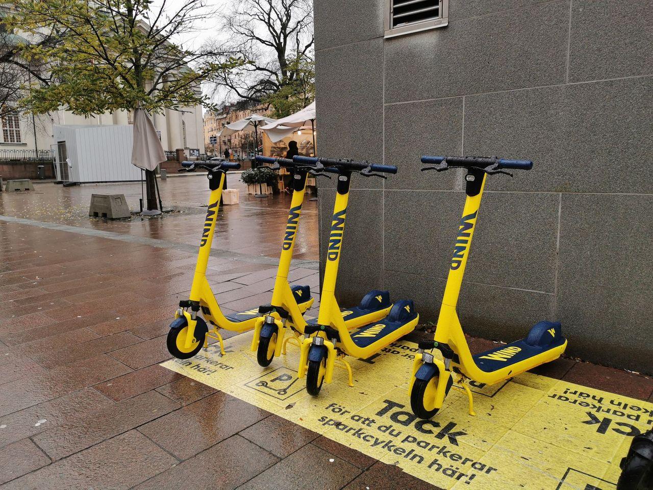Stockholm föreslår ny avgift för elsparkcykel-företagen