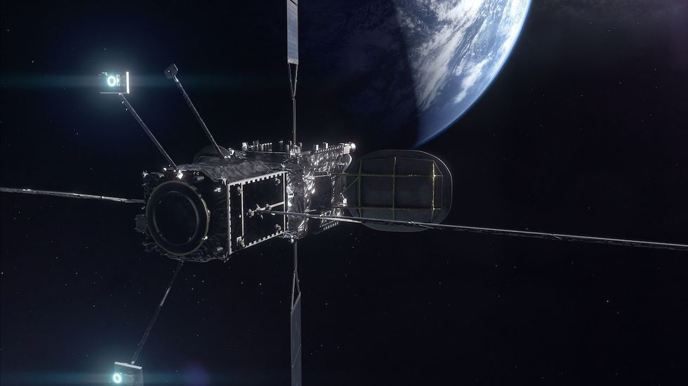 Northrop Grumman förlänger livet för ännu en satellit