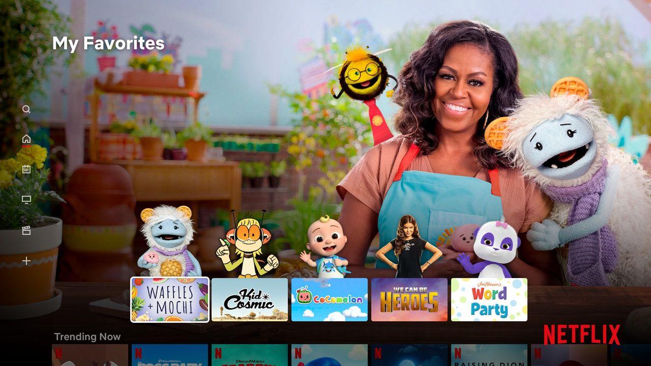 Netflix barnprofiler blir mer barnvänliga
