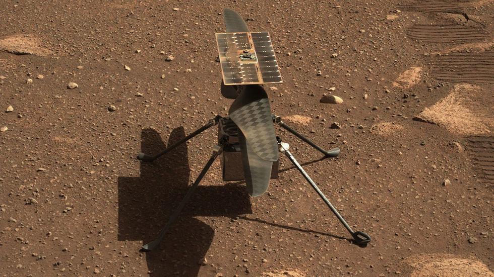 NASA ska uppdatera mjukvaran på Ingenuity