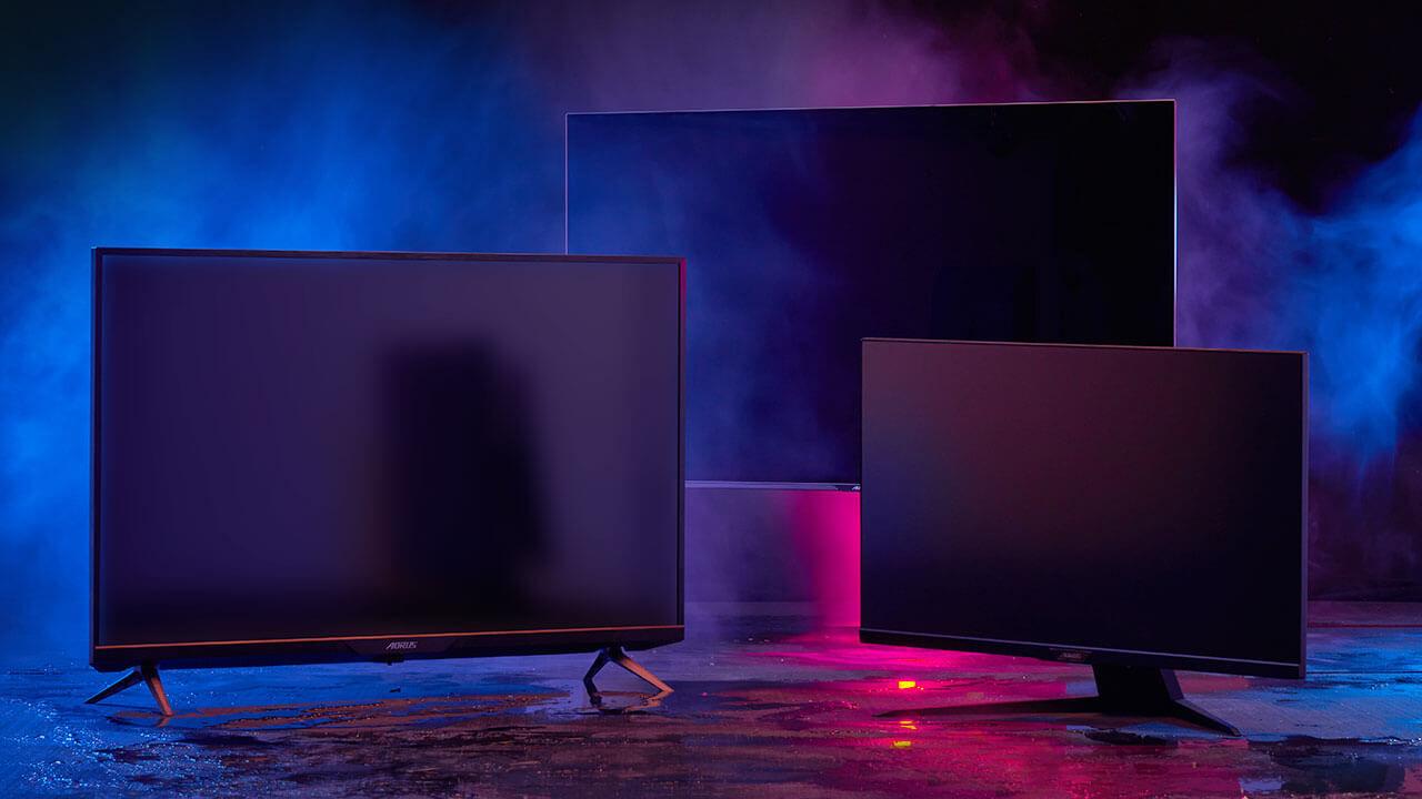 Gigabyte presenterar nya gamingskärmar med HDMI 2.1