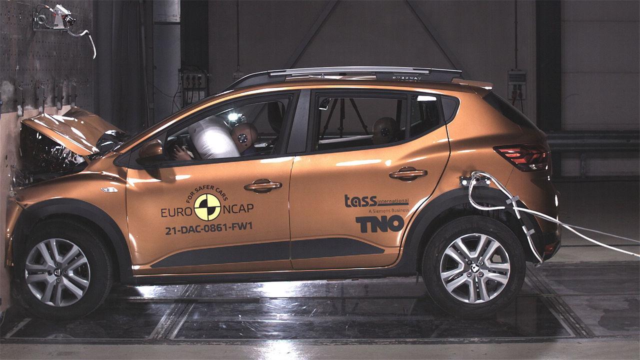 Dacia Sandero får bara två stjärnor i Euro NCAP