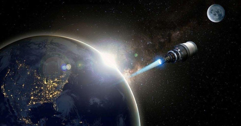 Blue Origin och Lockheed Martin ska designa DRACO