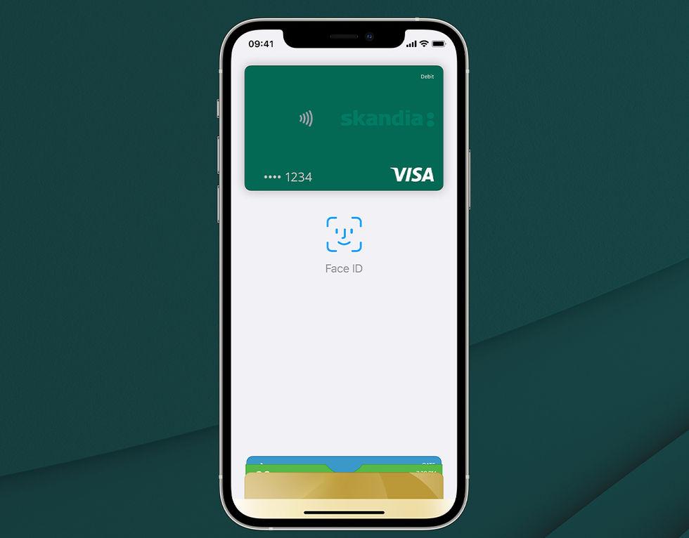 Snart lanserar även Skandiabanken stöd för Apple Pay