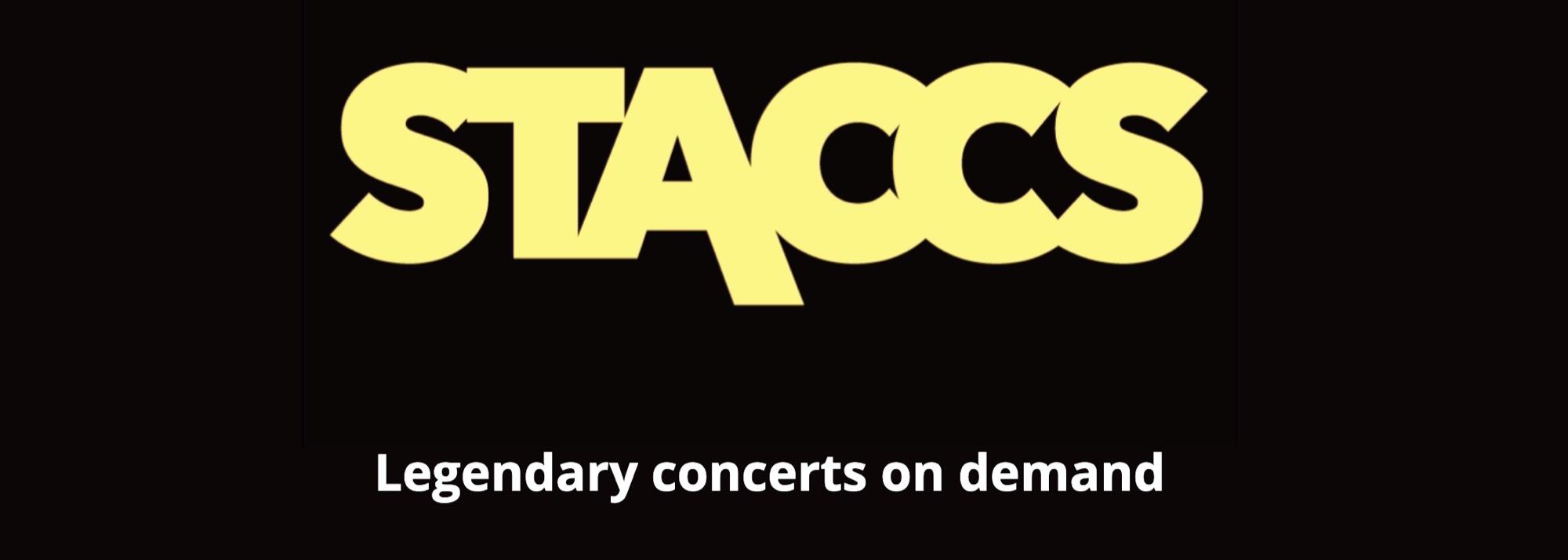 """Staccs är en streamingtjänst för konserter Vill bli ett """"Netflix för konserter"""""""