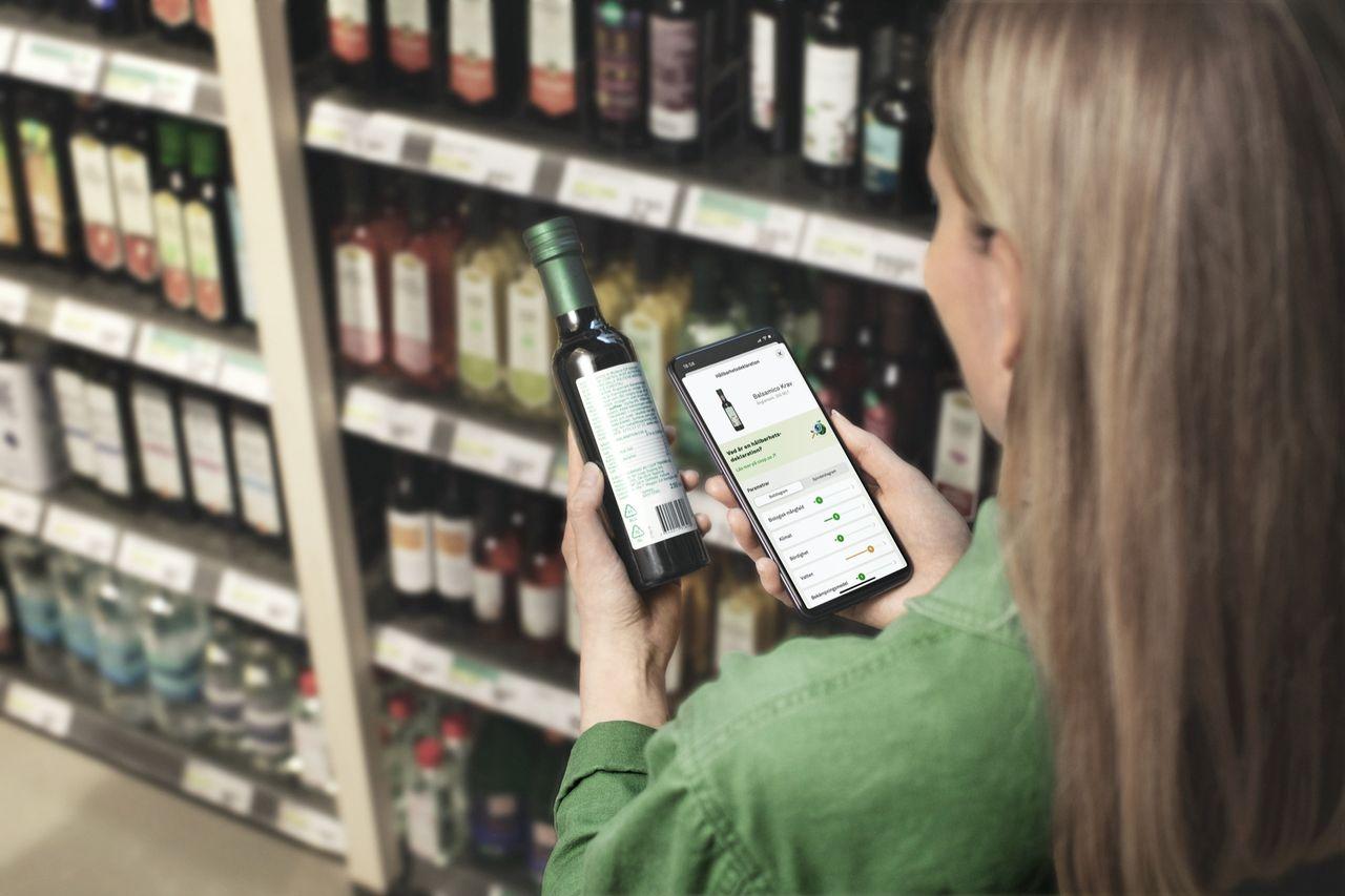 Coop lanserar hållbarhetsdeklaration i sin app