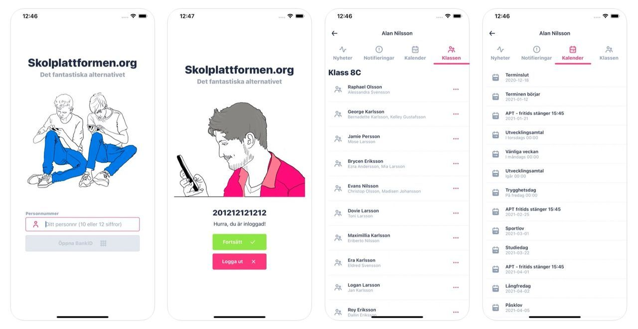 Stockholms stad polisanmäler Öppna skolplattformen