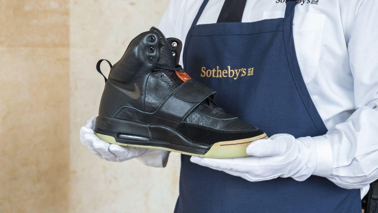 Kanye Wests Nike Air Yeezy 1 säljs på auktion