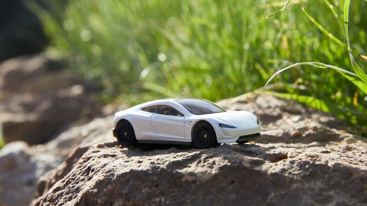Matchbox släpper Tesla Roadster-modell