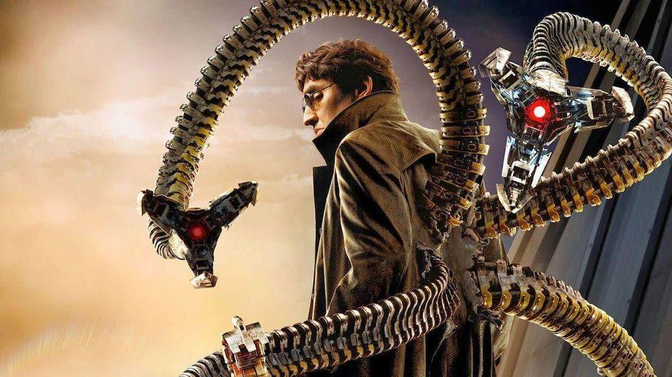 Alfred Molina återvänder Doctor Octopus