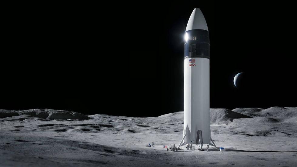 NASA väljer SpaceX som leverantör till Artemis-programmet
