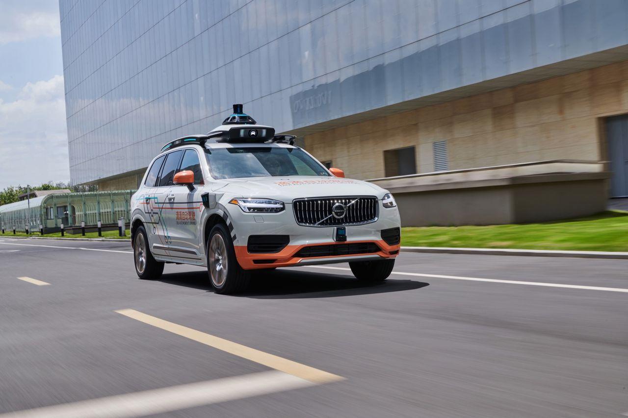 Volvo levererar självkörande bilar till DiDi