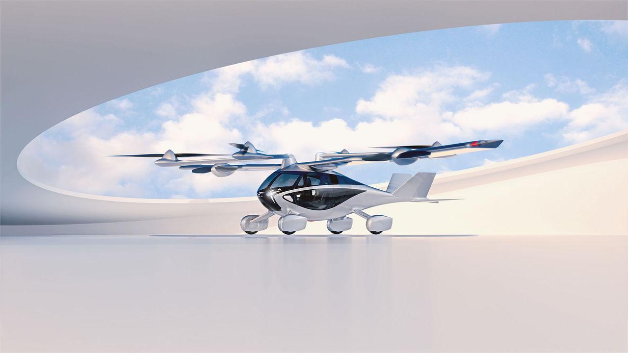 NFT visar upp sin flygande bil Aska