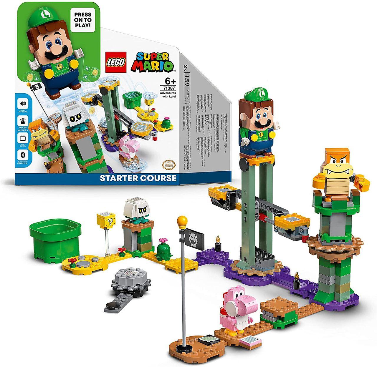 LEGO-Luigi kommer till LEGO Äventyr med Mario