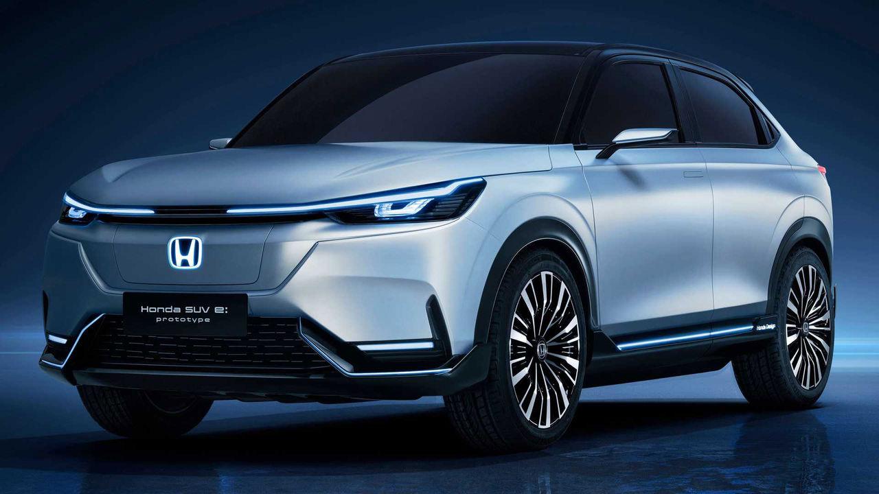 Honda visar prototyp av elektrisk SUV
