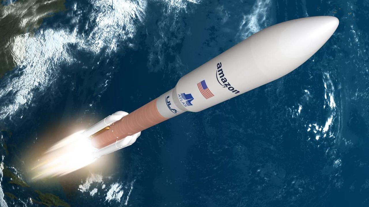 Amazon köper Atlas V-raketer till Project Kuiper