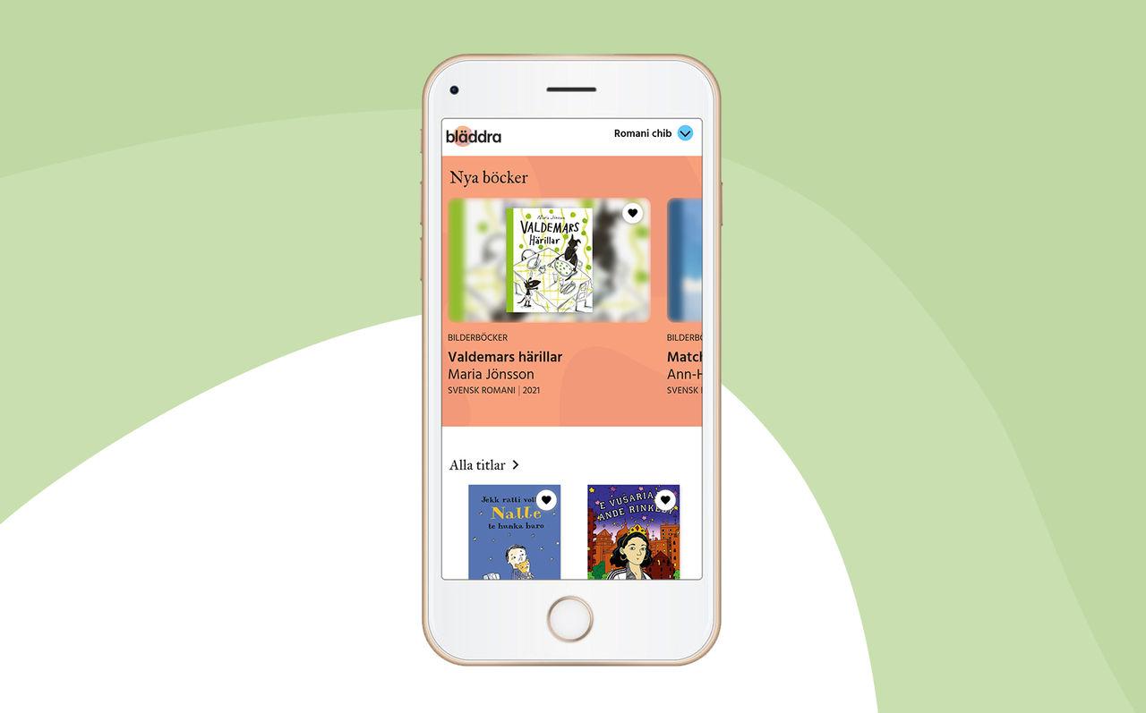Kungliga Biblioteket lanserar eboks-app för minoritetsspråk