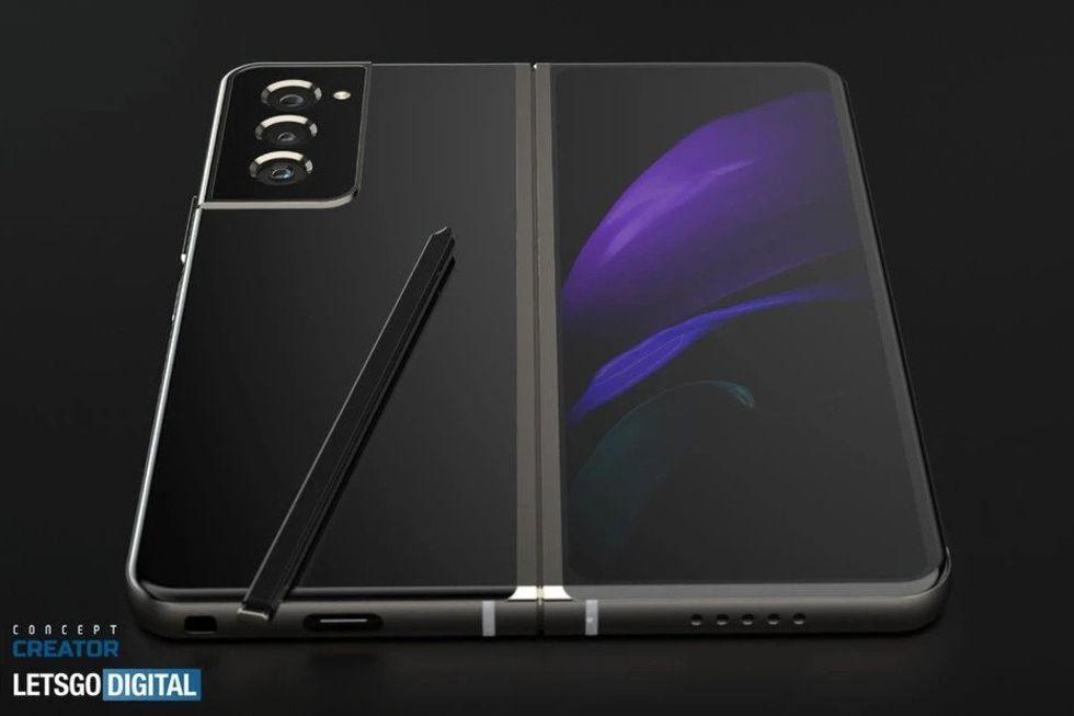 Samsungs nya vikbara enheter kan bli vattentåliga