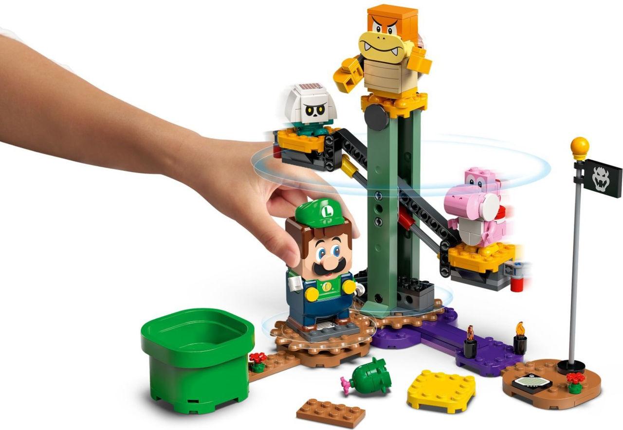 Luigi-Lego släpps 1 augusti