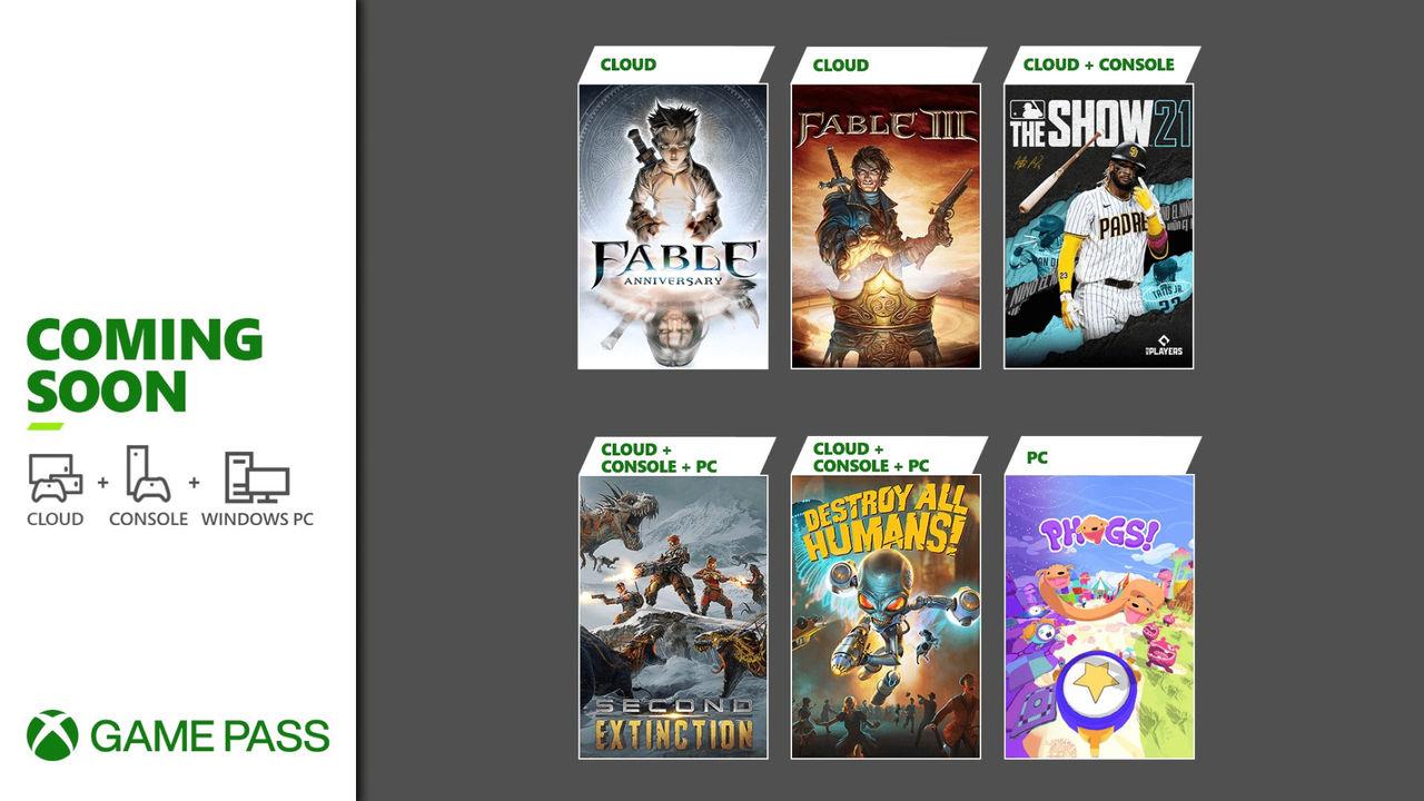 Microsoft uppdaterar Xbox Game Pass med nya titlar